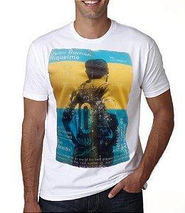 Camiseta Masculina Riquelme Boca Juniors