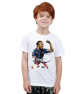 Camiseta Infantil - Mbappé - Seleção da França