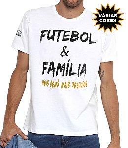 Camiseta Masculina Futebol e Família Estilo Boleiro