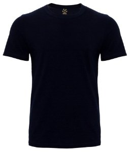 Camiseta Masculina Lisa Estilo Boleiro cor preta