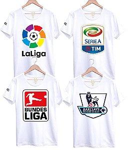 Camiseta das Ligas Européias de Clubes