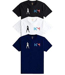 Camiseta Masculina Mbappe várias cores