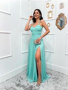 Vestido De Festa Longo Tiffany Rosita Aluguel