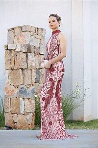 Vestido Vermelho Longo Flávia