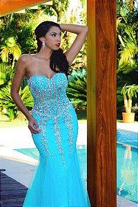636 Vestido Tiffany Longo