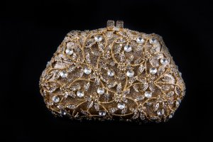 1461-Clutch- Dourada New-York