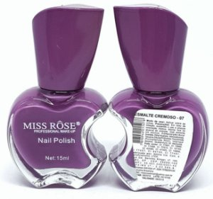 Esmalte Cremoso 07 - Miss Rôse 13ml