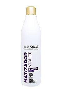 Shampoo Profissional Matizador Violet Soho Guenki 1litro