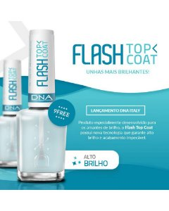 Acabamento Flash Top Coat 9Free DNA Italy 10ml