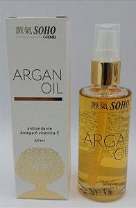 Tratamento Finalizador Argan Oil Soho Guenki 60ml