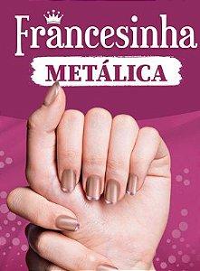 Coleção Francesinha Metálica DNA Italy com 08 cores