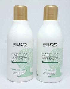 Shampoo e Condicionador para cabelos Cacheados Soho Guenki 300ml