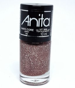 Esmalte Glíter Anita Hard Core 10ml
