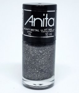 Esmalte Glíter Anita Heavy Metal 10ml