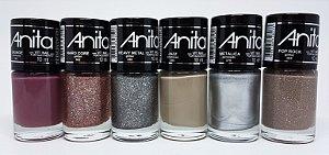 Nova Coleção de Esmaltes Rock Anita - 06 cores