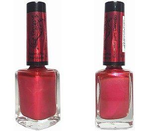 Esmalte para Carimbo La Femme Vermelho Perolado 9ml