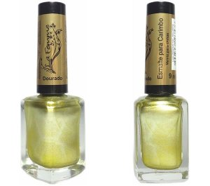 Esmalte para Carimbo La Femme Dourado 9ml