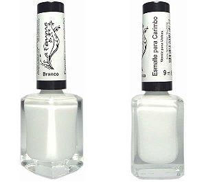 Esmalte para Carimbo La Femme Branco 9ml