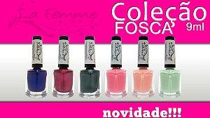 Coleção de Esmaltes La Femme Fosca com 06 Cores.
