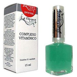 Complexo Vitamínico para as Unhas La Femme 9ml