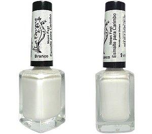 Esmalte para Carimbo La Femme Branco Neon Fest 9ml