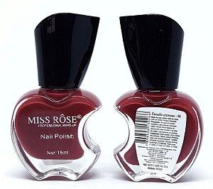 Esmalte Cremoso 66 - Miss Rôse 13 ml - Lançamento