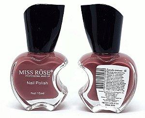 Esmalte Cremoso 68 - Miss Rôse 13ml - Lançamento