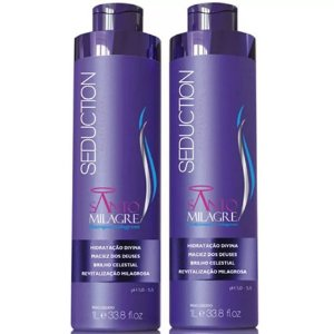 Kit Shampoo e Condicionador Santo Milagre Seduction 1 Litro
