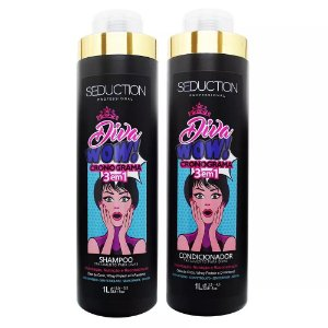 Kit Shampoo e Condicionador Seduction Diva Cronograma 3 em 1