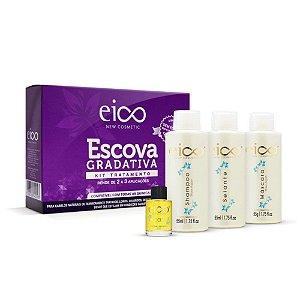 Kit Tratamento Escova Gradativa Eico New Cosmetic Sem Formol