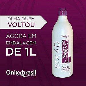 Creme Tratamento Botox 4d OnixxBrasil  Redutor de Volume 1kg