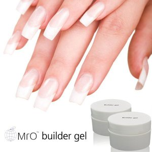 Gel UV para Alongamento de Unhas  MrO Transparente 15ml