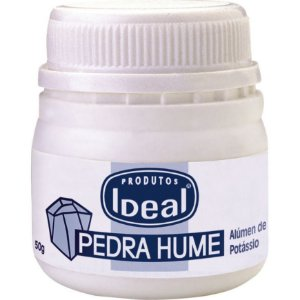 Pedra Hume Ideal Pote 50g