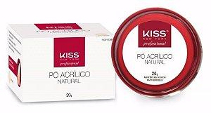 Pó Acrílico Natural Kiss para Alongamento FKAP100BR 20g