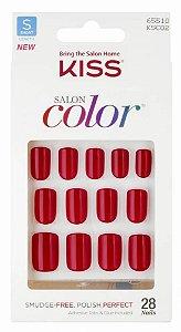 Unhas Postiças Salon Color Kiss - Curto KSC02BR