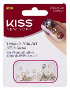 Biju de Metal Kiss para Nail Arte NAMC04 Show it Out