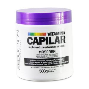Máscara Vitamina Capilar Seduction 500 gr.