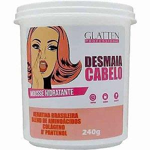 Máscara Desmaia Cabelo Glatten 240gr