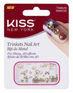 Biju de Metal para Nail Art Kiss NAMC02 Treasure