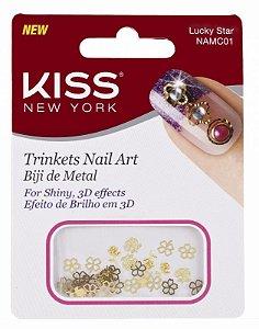 Biju de Metal para Nail Art Kiss NAMC01 Luckstar