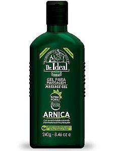 Gel de Arnica para Massagem Muscular Ideal 240gr.