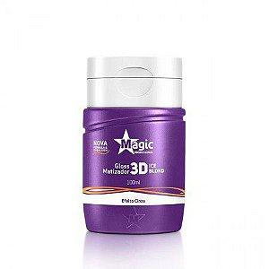 Matizador Magic Power 3D Efeito Cinza 100 ml