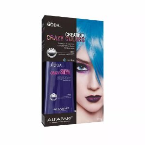 Tonalizante Creative Crazy Colors Ice Blue Alta Moda 120gr