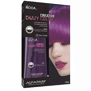 Tonalizante Creative Crazy Colors Dark Violet Alta Moda 120g - Alfaparf