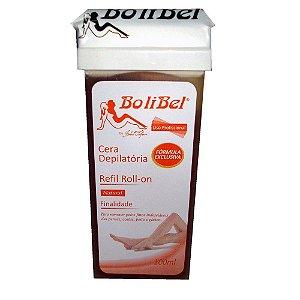 Cera Depilatória Refil Roll-on BoliBel Natual 100ml