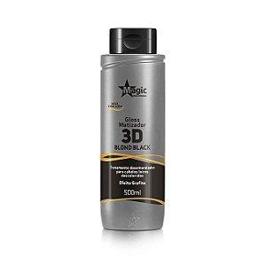 Matizador Magic Color 3D Efeito Grafite 500 ml