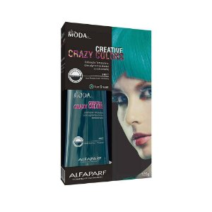 Tonalizante Creative Crazy Colors Ice Green Alta Moda 120g - Alfaparf