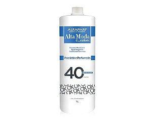 Água Oxigenada Alfaparf Alta Moda OX 40 Volumes 1 Litro