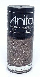 Esmalte Gliter Anita #DeuMatch - Coleção deu Match 10ml