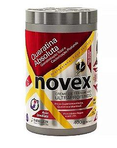 Creme de Tratamento Capilar Novex Queratina Absoluta 400 gr